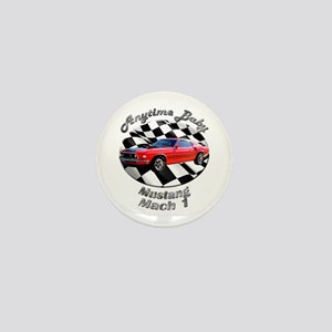 Ford Mustang Mach 1 Mini Button (10 pack)