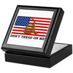 Don't Tread on Me Keepsake Box