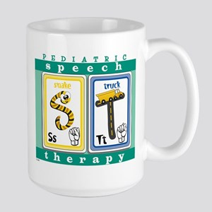 Pediatric Speech Therapy Large Mug