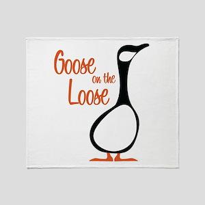 New Goose Throw Blanket