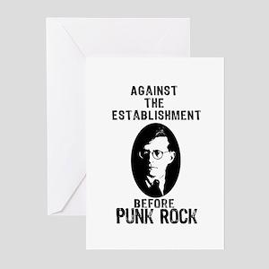 Shosty Anti Establishment Greeting Cards (Pk of 20