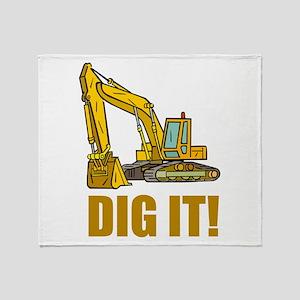 Dig It! Throw Blanket