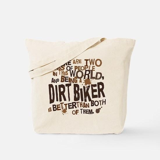 Dirt Biker (Funny) Gift Tote Bag