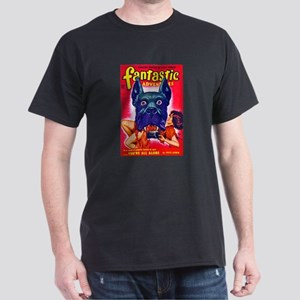 Fantastic Big Dog Cover Art Dark T-Shirt