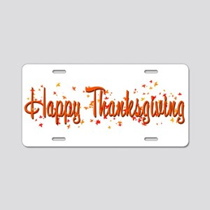 Happy Turkey Day! Aluminum License Plate