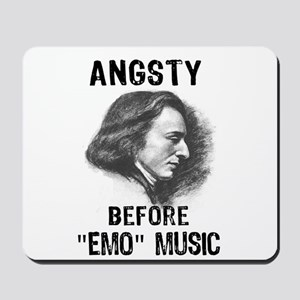 Chopin: Angsty before Emo Mus Mousepad