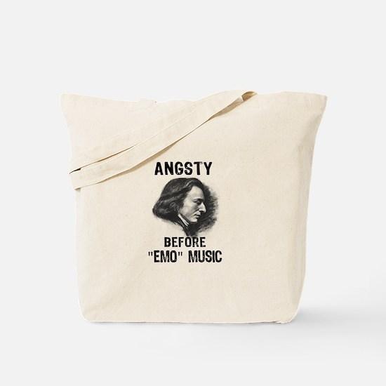 Chopin: Angsty before Emo Mus Tote Bag