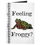 Feeling Froggy? Journal