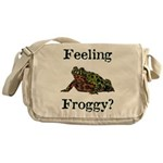 Feeling Froggy? Messenger Bag
