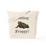 Feeling Froggy? Tote Bag