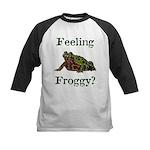 Feeling Froggy? Kids Baseball Jersey