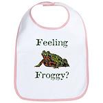 Feeling Froggy? Bib