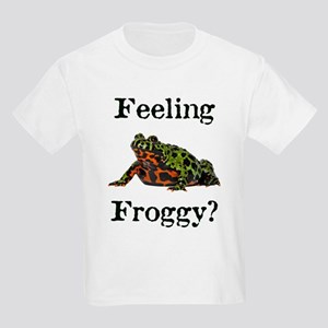 Feeling Froggy? Kids Light T-Shirt