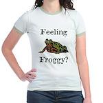 Feeling Froggy? Jr. Ringer T-Shirt