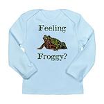 Feeling Froggy? Long Sleeve Infant T-Shirt