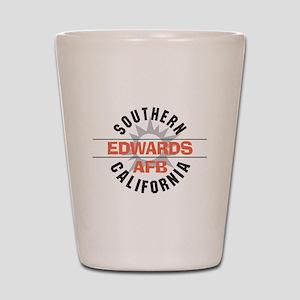 Edwards Air Force Base Shot Glass