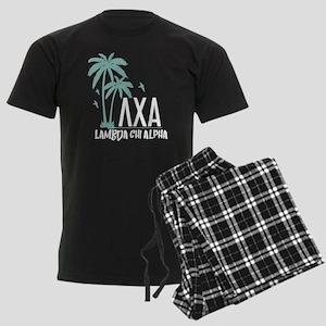 Lambda Chi Alpha Palm Tree Men's Dark Pajamas