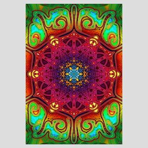 Psychedelic Excursion Mandala Art (Large)