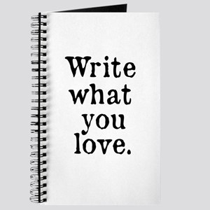 Write What You Love Journal