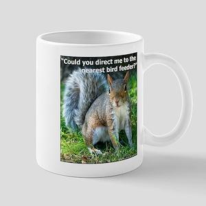 Squirrel Bird Mug