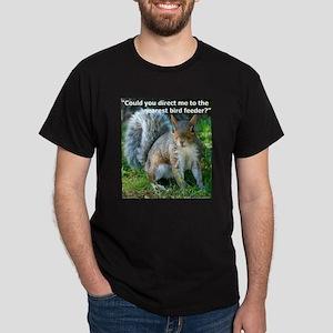 Squirrel Bird Dark T-Shirt