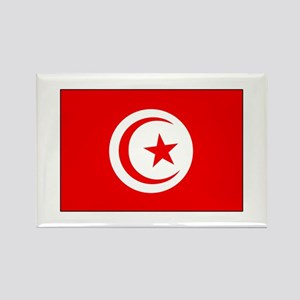 Cheer for Tunisia 's Soccer Team Rectangle Magnet