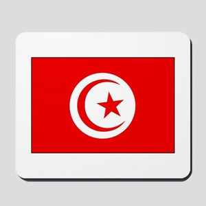 Cheer for Tunisia 's Soccer Team Mousepad