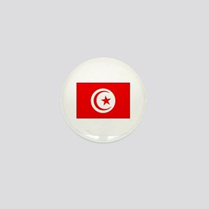 Cheer for Tunisia 's Soccer Team Mini Button