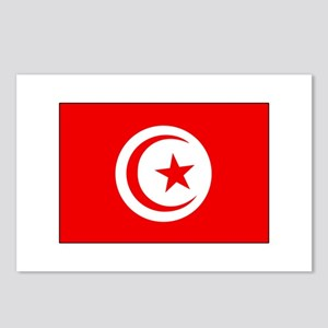 Cheer for Tunisia 's Soccer Team Postcards (Packag