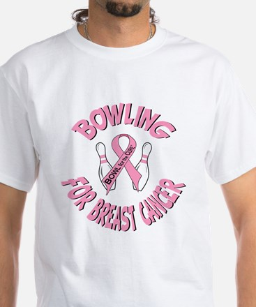 BOWL for the CURE White T-Shirt