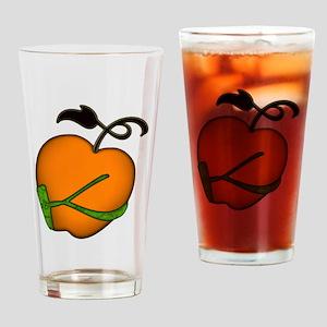 Golden Apple of Eris Drinking Glass