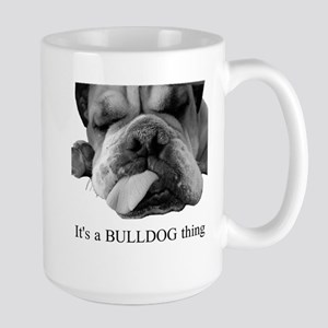 Bulldog Rescue Large Mug