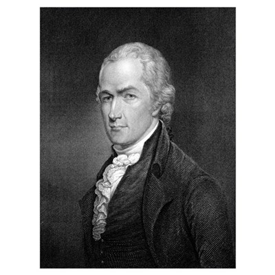 Alexander Hamilton Canvas Art