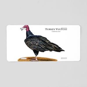 Turkey Vulture Aluminum License Plate