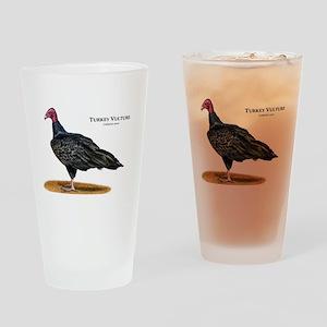 Turkey Vulture Drinking Glass