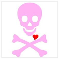 Pink Pirates Love Poster