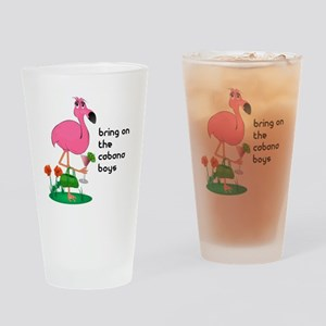 Flamingo Funny Drinking Glass