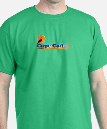 Cape Cod MA - Beach Design T-Shirt