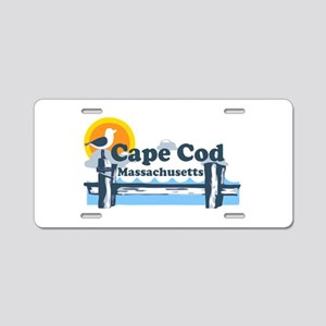 Cape Cod MA - Pier Design Aluminum License Plate
