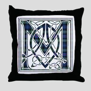 Monogram-MacKenzie Throw Pillow