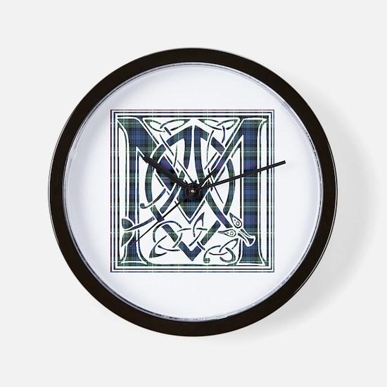 Monogram-MacKenzie Wall Clock