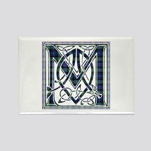 Monogram-MacKenzie Rectangle Magnet