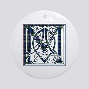 Monogram-MacKenzie Round Ornament