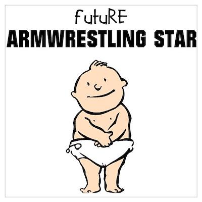 Future Armwrestling Star Poster