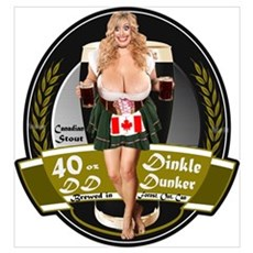 40 DD Canadian Dark Canvas Art
