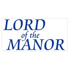 Lord of the Manor Canvas Art