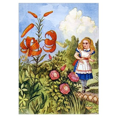 ALICE & THE TALKING FLOWERS Poster