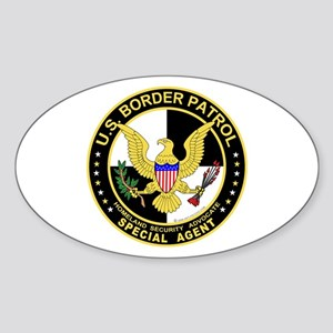 US Border Patrol SpAgnt Oval Sticker