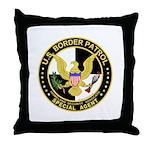 US Border Patrol SpAgnt  Throw Pillow
