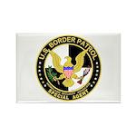 US Border Patrol SpAgnt Rectangle Magnet (10 pack